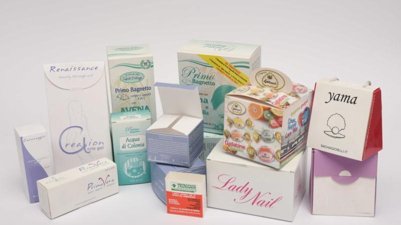 packaging in carta varie forme