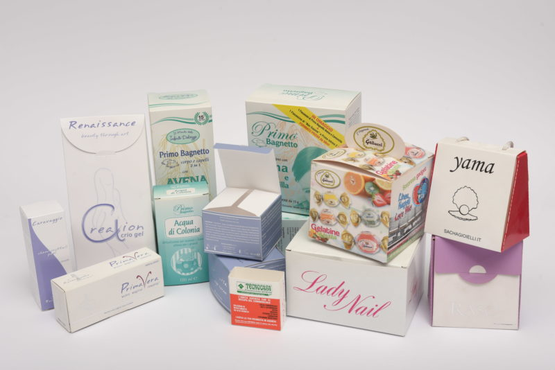 packaging in carta varie forme
