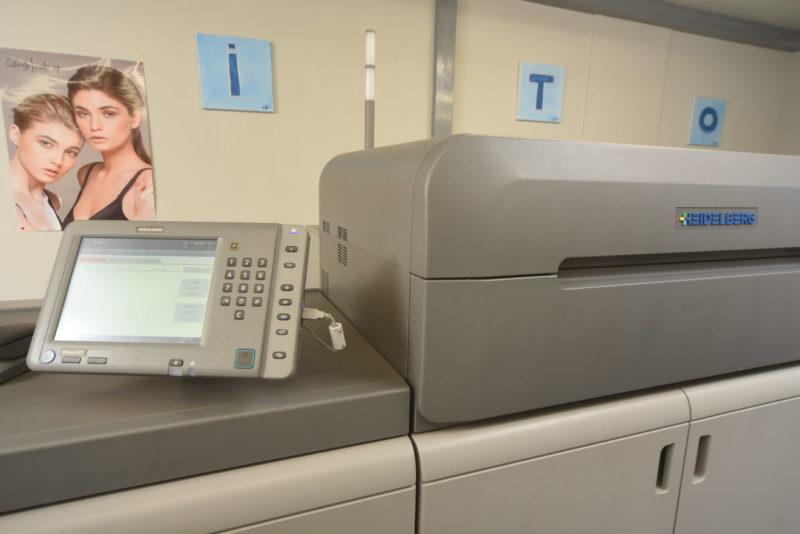 stampante digitale heidelberg versafire