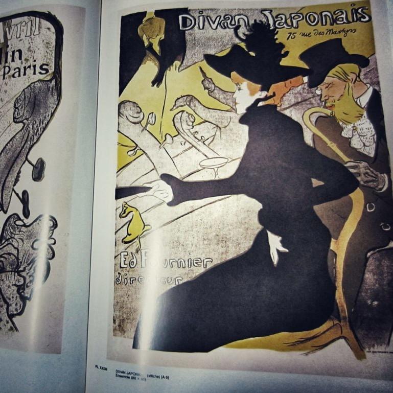 divan japonais di Henri de Toulouse-Lautrec