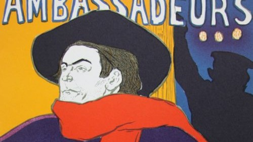 ambassadeurs di Henri de Toulouse-Lautrec
