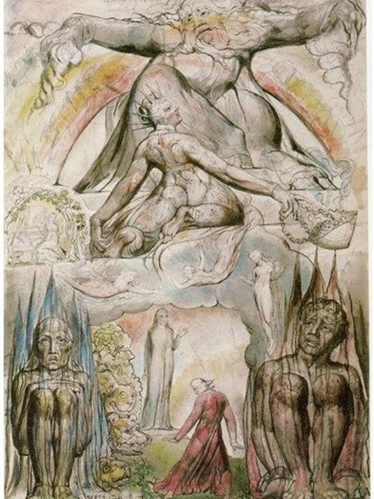 inferno di dante illustrato da william blake