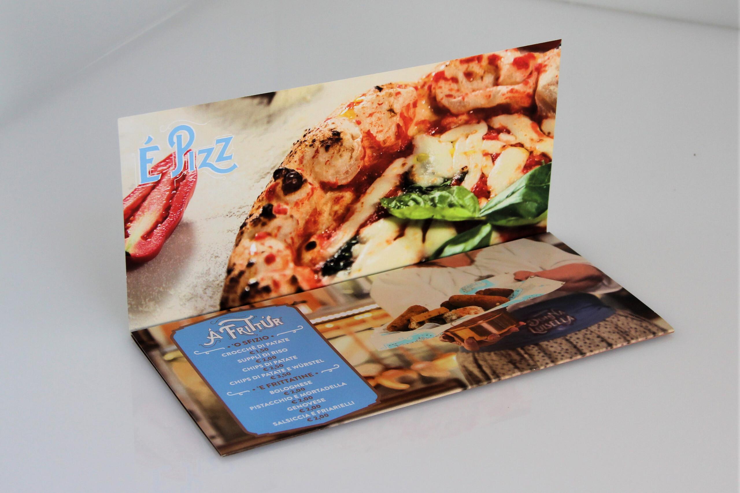 brochure due ante pizzeria donna luisella secondigliano