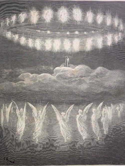 paradiso dante illustrato da Doré