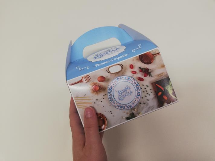 packaging food delivery rosticceria napoli