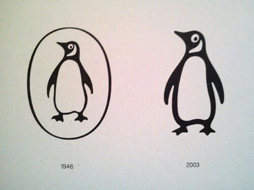 evoluzione logo penguin dal 1946 al 2003