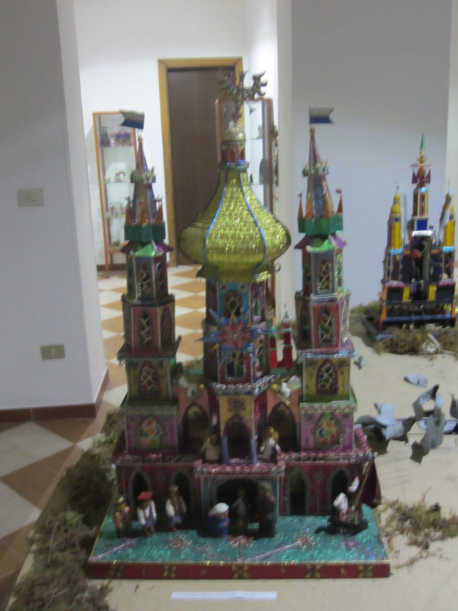 modellino esposizione MIG Basilicata