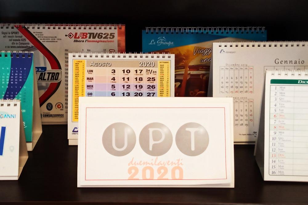 calendari da tavolo 2020, un gadget indispensabile per il cliente ritardatario