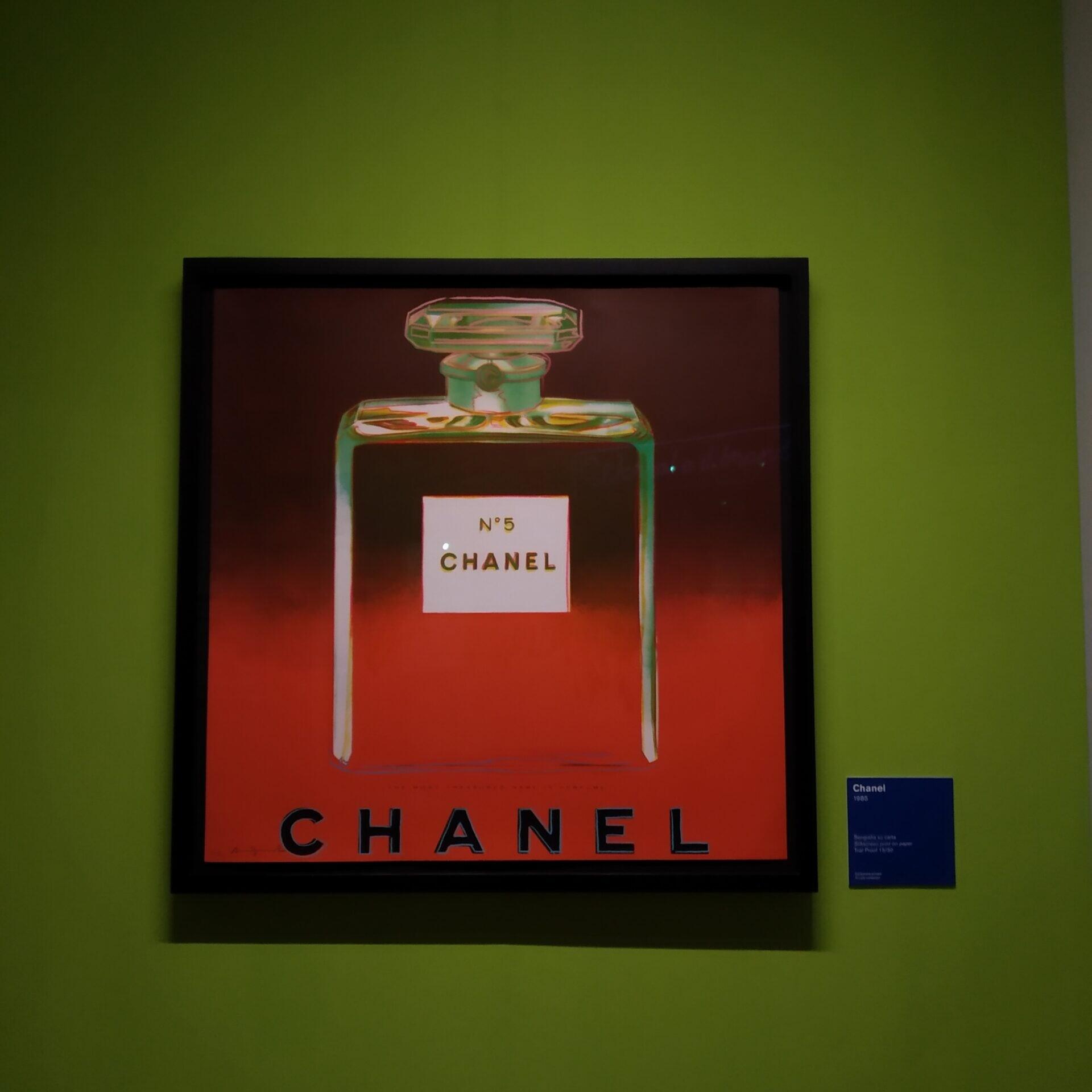 mostra di andy wohrol a napoli chanel