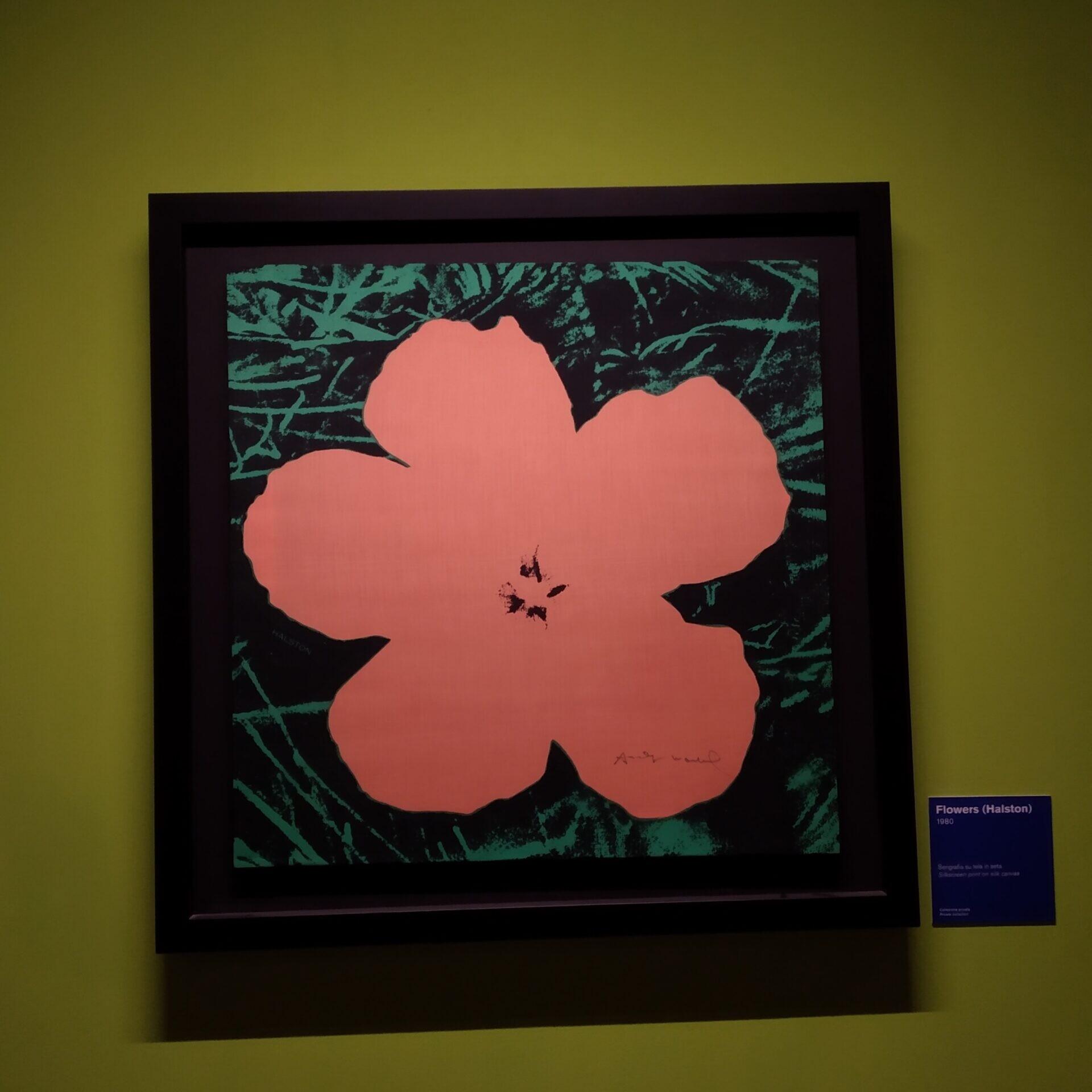 mostra di andy wohrol a napoli fiore